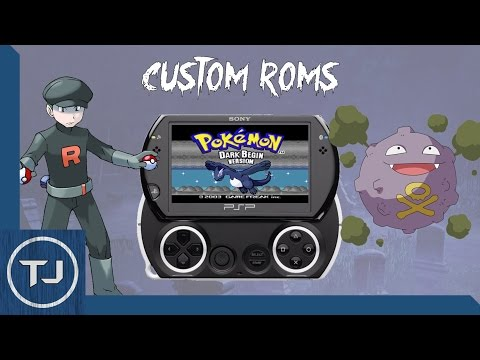 PSP/PSP GO Pokemon Rom Hacks! (GameBoy Advance!)