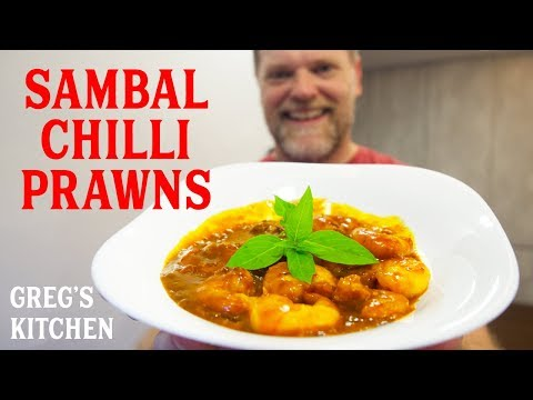 How to Cook Sambal Udang - Chili Shrimp Recipe - Greg's Kitchen