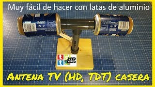 Potente Mini Antena Para Tv Interior Exterior