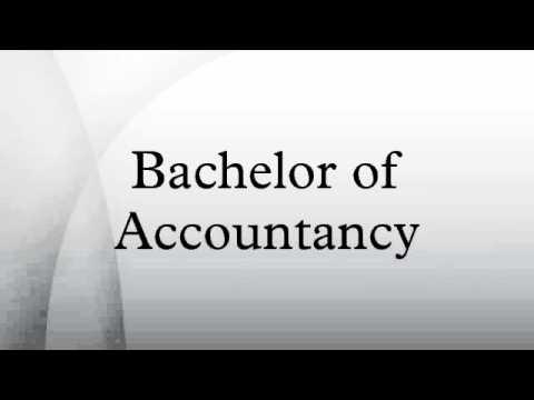 Bachelor of Accountancy