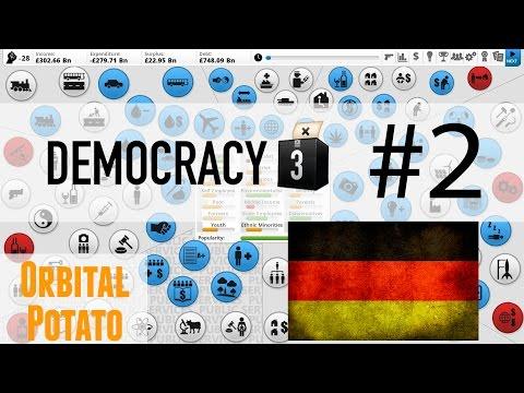 Democracy 3 - All DLC - Socialist Germany - 2 - Tax Stuff