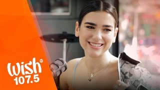 "Dua Lipa performs ""Blow Your Mind"" LIVE on Wish 107.5 Bus"