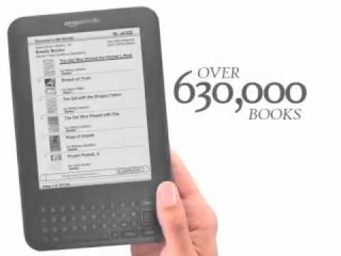 Kindle 3  Kindle Wireless Reading Device, Free 3G + Wi Fi