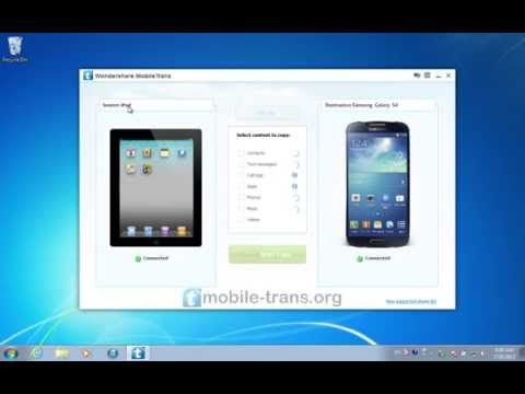 How to Sync iPad with Galaxy S4 and Transfer Movies/Videos from iPad to Samsung Galaxy S4