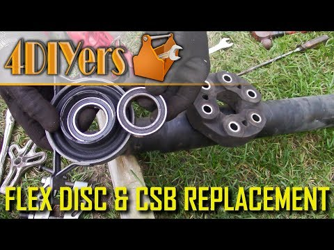 DIY: BMW E39 Driveshaft Flex Disc (Giubo) & Center Support Bearing Replacement