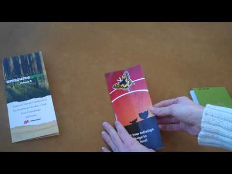 The Brochure Fold: How to stand out with professional folding