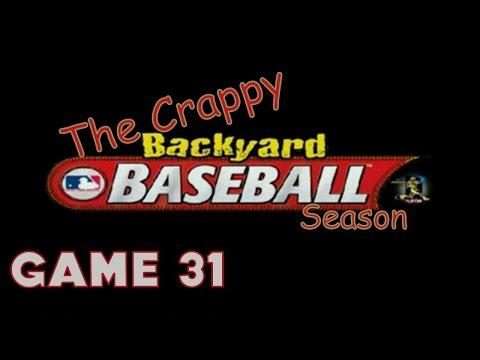 Backyard Baseball #31 (Vs.Rangers): OUR FIRST ALUMINUM BAT HOMERUN!!!
