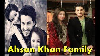 Ahsan Khan with his Beautifull Family .