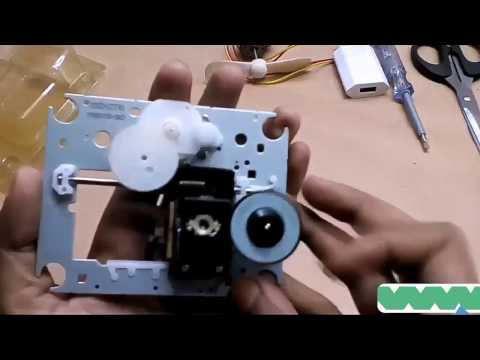 How to make generator from DC motor