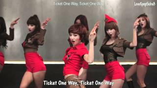 Nine Muses - Ticket MV [English subs + Romanization + Hangul] HD