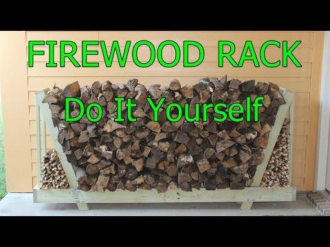 Firewood rack - Do it yourself