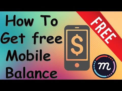 How To Get free Mobile Balance