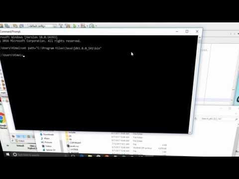 how to run java program in cmd windows 10 +Netbeans