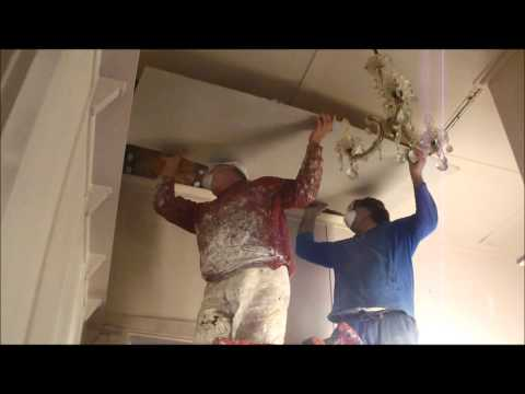 Replacing ceiling panels