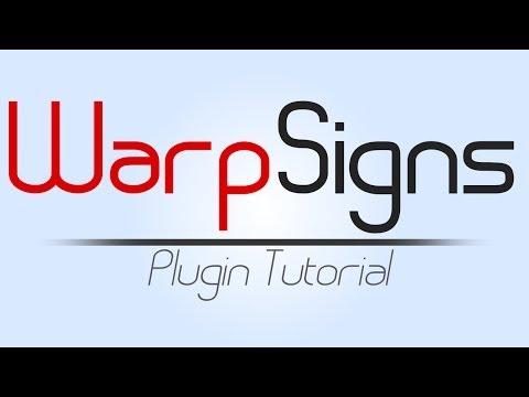 WarpSigns Bukkit Plugin Tutorial