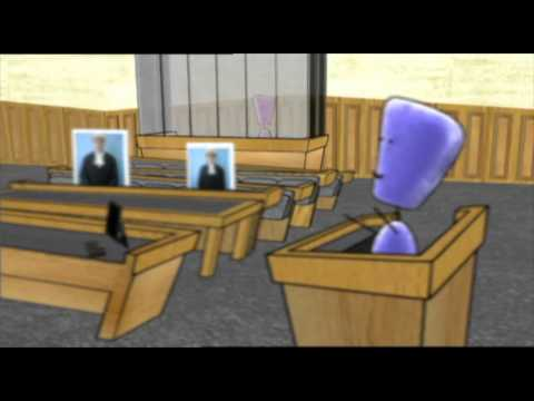 Going to court as a witness: 6. Who's who in the court room