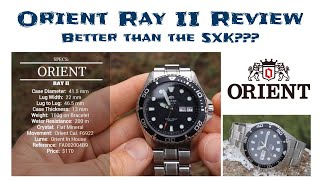 Orient Ray II Review - Is this the best SKX Alternative??