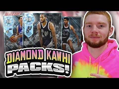 DIAMOND KAWHI LEONARD PACKS! THROWBACK PLAYOFF MOMENTS PACK OPENING!! (NBA 2K18 MYTEAM)