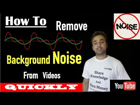 How to remove Background Noise from Videos Quickly - Increase YouTube Views SEO tips