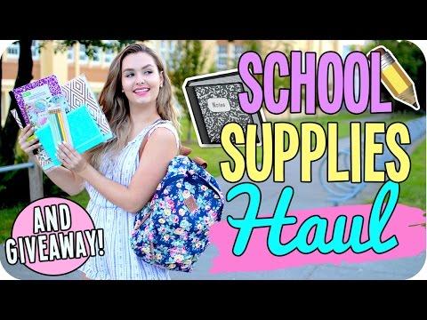School Supplies Haul 2016!