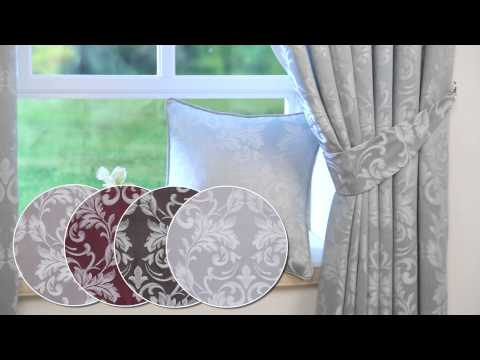 24studio - Charlotte Tape Top Curtains Including Tie Backs