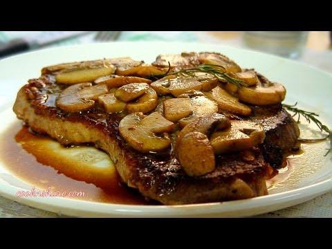 Steak And Mushrooms