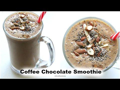 Coffee Chocolate Smoothie - Healthy Breakfast Recipes | Nisa Homey