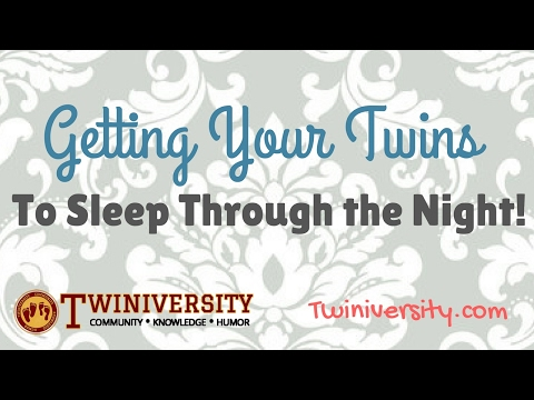 Getting Your Twins to Sleep Through the Night | Facebook Live Chat