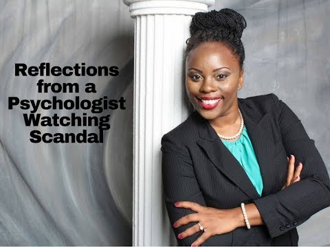 Reflections from a Psychologist Watching Scandal