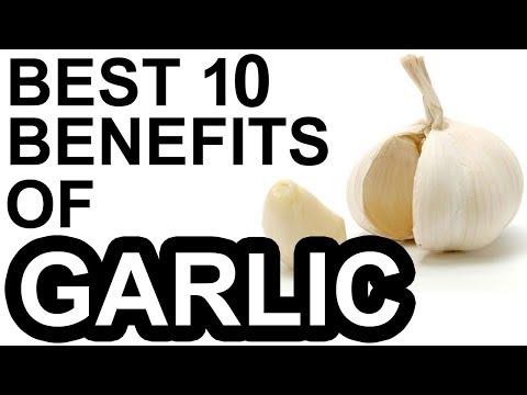 Top 10 Health Benefits of Garlic  Benefits of Garlic  Garlic Health Benefits