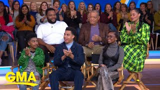 Stars of 'Black-ish' talk about their upcoming episode l GMA