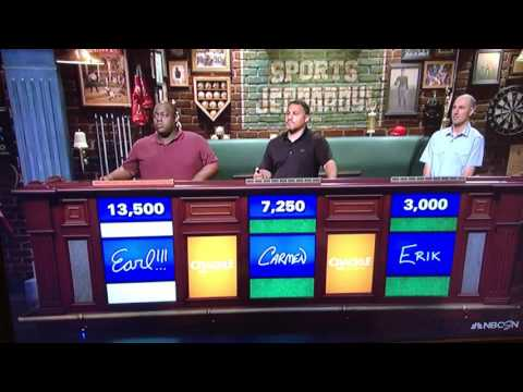 Hilariously bad Sports Jeopardy answer