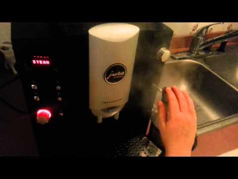 How to operate the Jura Impres E8 Espresso machine