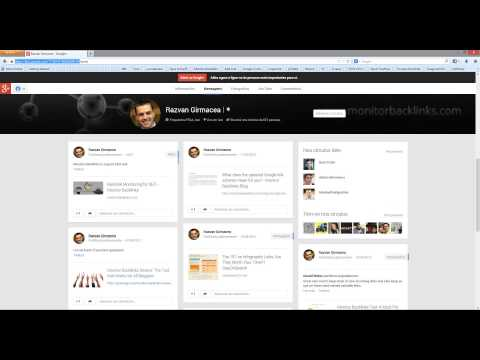 How to get a good backlink from your Google Plus profile