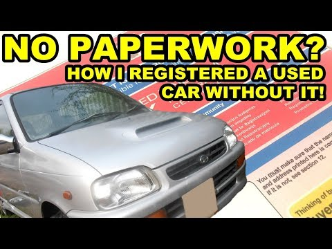 How To Get A V5C Car Registration Document - Daihatsu Cuore Avanzato TR-XX R4 Project Episode 3
