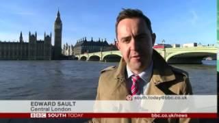 BBC South Today - Southern Rail strike