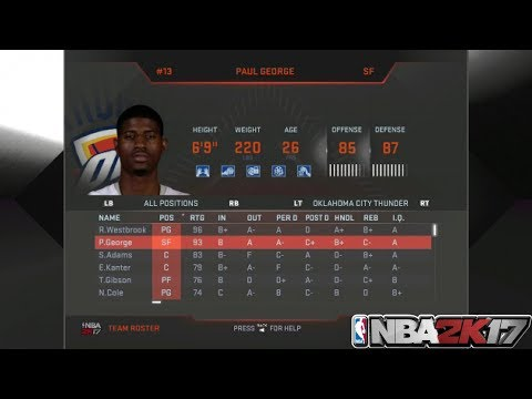 NBA 2K17 XBOX 360/PS3 - HOW TO DOWNLOAD NBA 2K18 TEAM ROSTER