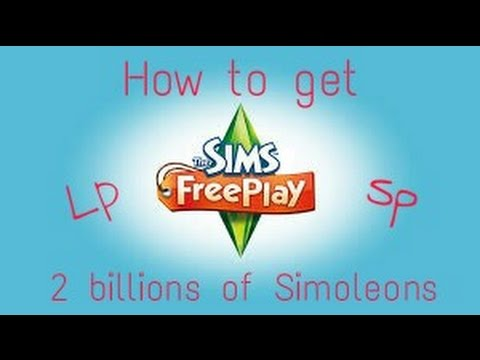 How To Get 2 Billions of Simoleons , Lp , Sp. | The Sims FreePlay | Ashanti Hylton❤