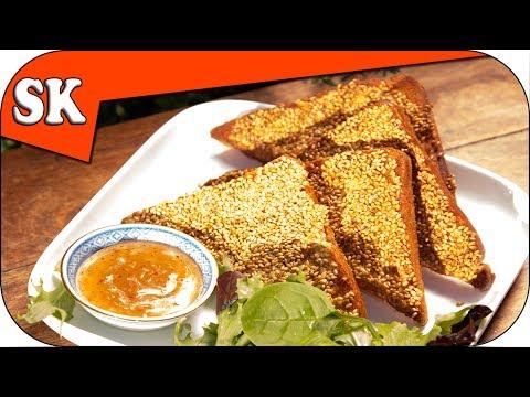 PRAWN TOAST - Sesame Prawn Toast Recipe - Viewer Request