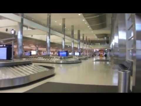Detroit(DTW) Airport Arrival Area