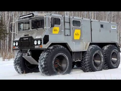Russian 6x6 Off Road Monster (Amphibious Vehicle)