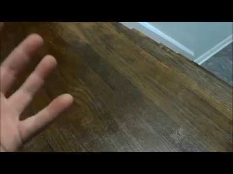 Repairing Scratched Hardwood Floors QUICKLY With Stain