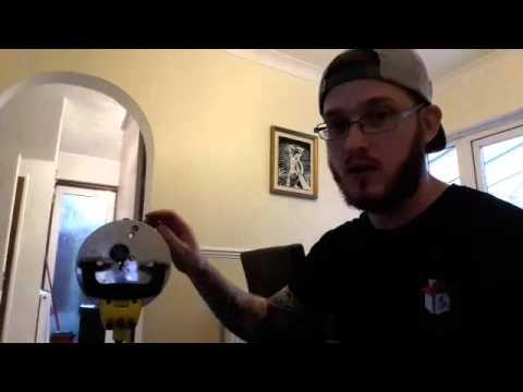 How to repair a floor safe door / lid