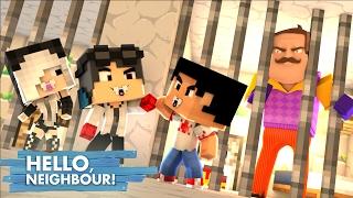 Minecraft: HELLO NEIGHBOR - PRENDEMOS O VIZINHO!