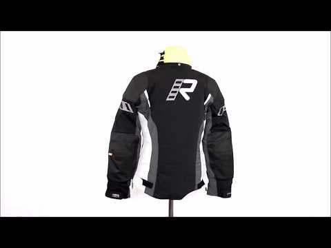 RUKKA Iryna Ladies Motorcycle Jacket Grey   360 HD