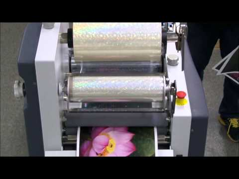 GMP QTOPIC 380 Perfect & Cost Effective Solution for Digital Print on Demand Finishing Laminator