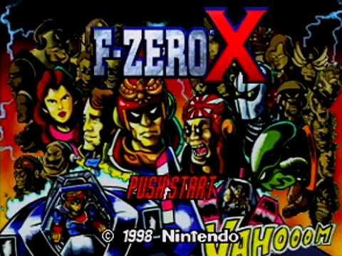 F-Zero X - Intro Video