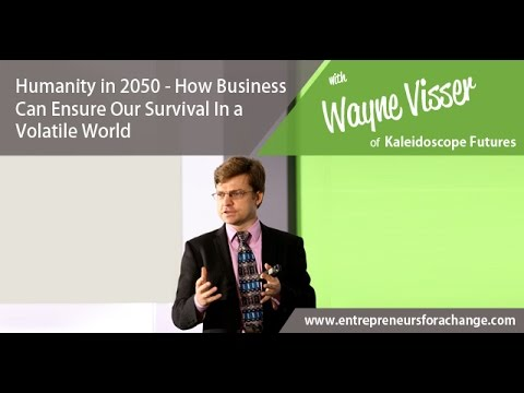 Wayne Visser Kaleidoscope Futures - How Business Can Ensure Our Survival In a Volatile World