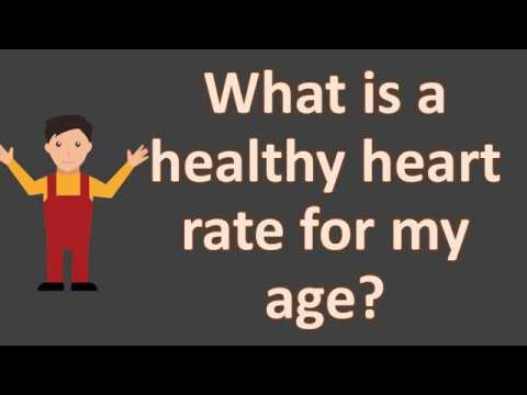 What is a healthy heart rate for my age ?  | Health FAQS | It's All about your health