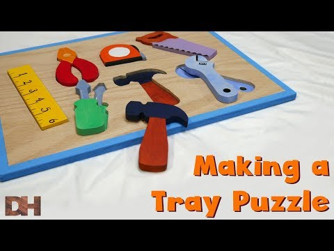 Making a Tray Puzzle